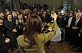CFK saluda a periodistas acreditados en Casa Rosada.jpg