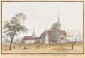 CH-NB - Belp, Schloss, von Westen - Collection Gugelmann - GS-GUGE-ABERLI-E-2.tif
