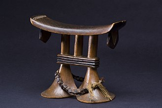 Tsonga people - Tsonga wooden headrest