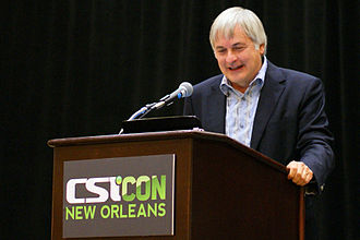 "Seth Shostak - Seth Shostak participating in ""Death From the Skies"" panel at CSICon 2011 in New Orleans"
