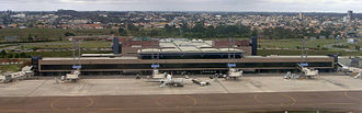Afonso Pena International Airport - Image: CWB Aerial Panorama 567 02 2009