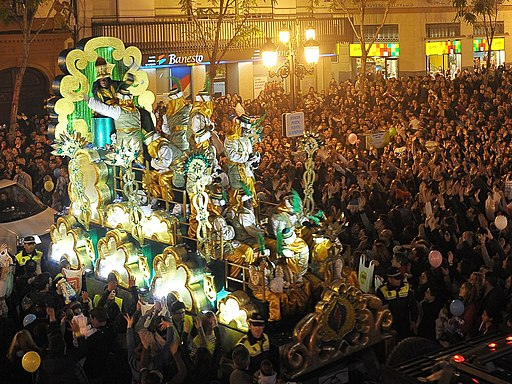 The Three Kings Parade in Seville