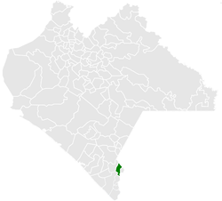 Municipality of Cacahoatán in Chiapas