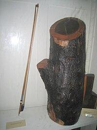Деревина фернамбукового дерева