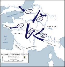 Caesar's Campaigns in Gaul, 1st century BC.png