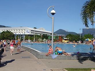 Surveillance - A surveillance camera in Cairns, Queensland