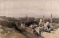Cairo, looking west, Egypt. Coloured lithograph by Louis Haghe Wellcome V0049365.jpg