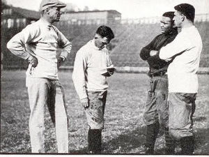 Andy Smith (American football) - 1922 From left: Smith, Nibs Price, Walter Gordon, and Albert Rosenthal.