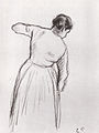 Camille Pissarro - Paysanne bêchant - 1880.jpg