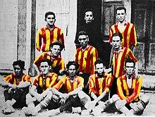 Historia del uniforme del Barcelona Sporting Club