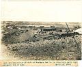 Camp and beginnings of work at Eastdale Dam No. 1. (14789820203).jpg