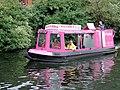 Canal trip boat near Gas Street Basin, Birmingham - geograph.org.uk - 1734279.jpg