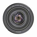 Canon EF-M 32mm F1.4 STM lens-top uncapped PNr°0802.jpg