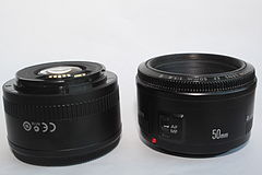 Canon EF 50mm II lens front and rear side-by-side edit2.JPG