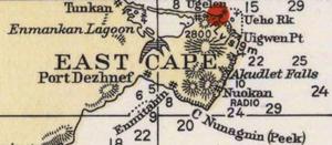 Uelen - Image: Cape Dezhnev USCGS 1937