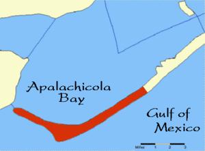 Cape St. George Island - Cape St. George Island, Florida.