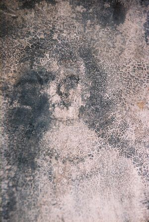 """Wall face"" appearance, purportedly paranormal..."