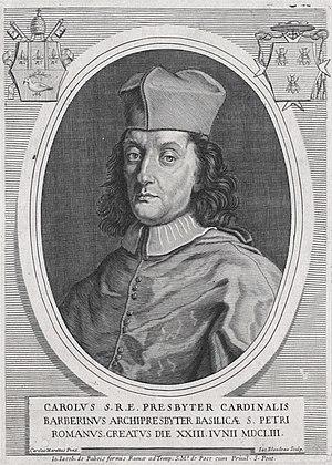 Carlo Barberini - Image: Card Carlo Barberini