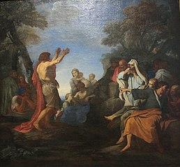 Vorhersage Johannes des Täufers