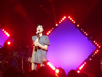Carly Rae Jepsen - Jepsen performs in 2016 at the Warfield Theatre, San Francisco stop of her Gimmie Love Tour