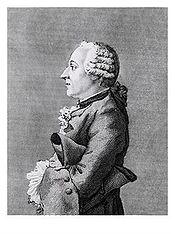 Grimm n a pas de mots trop durs pour la musique françaiseGravure de John Swaine d après Carmontelle (1769)