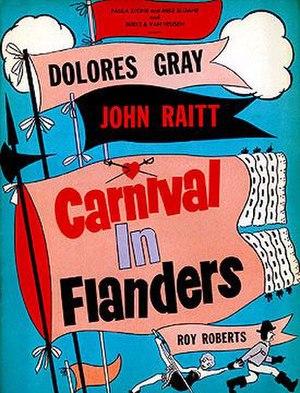 Carnival in Flanders (musical) - Original Poster