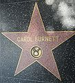 Carol Burnett's star on Hollywood Walk of Fame.JPG
