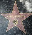 Carol Burnett's star on Hollywood Walk of Fame.JPG