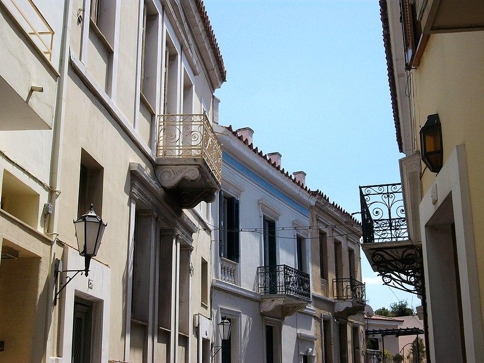 Carrer del barri de Plaka, Atenes