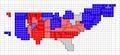 Cartogram 2008 red blue.png