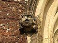 Carved head, St Andrew's Church, Exwick - geograph.org.uk - 1741759.jpg