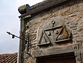 Carved panel, Ceres Weighhouse - geograph.org.uk - 930692.jpg