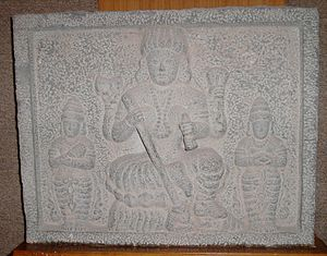 Hinduism in China - Carving of Shiva from the Hindu Temple at Quanzhou