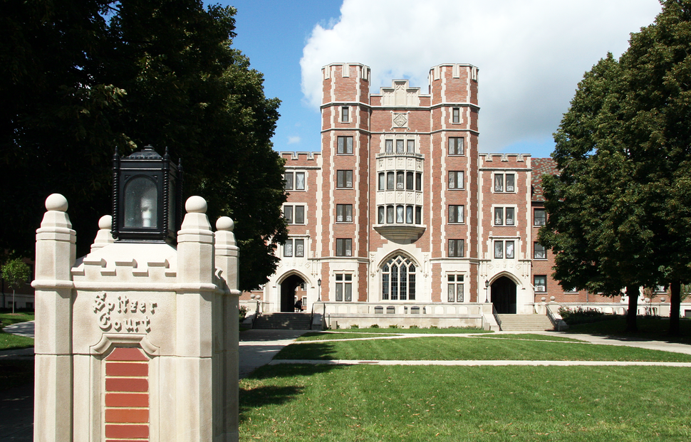 Cary Quad and Spitzer Court, Purdue University