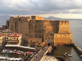 Castel dell'Ovo, Napoli, Italy