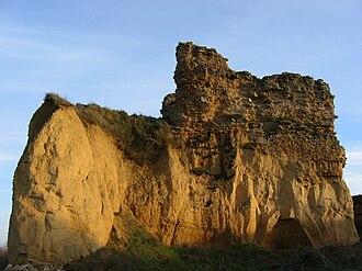 Castrillo de Villavega - Ruins of the Castle of de Castrillo de Villavega, built in the 9th and 10th centuries.
