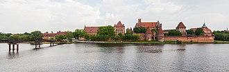 Malbork Castle - Image: Castillo de Malbork, Polonia, 2013 05 19, DD 56