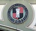 Castle shield on Foregate railway bridge, Worcester - geograph.org.uk - 1629621.jpg