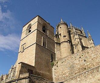 New Cathedral of Plasencia - Image: Catedral de Plasencia, Torre del campanario