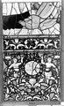 Cathédrale - Vitrail, Chapelle Saint-Joseph, Vie de saint Romain, lancette de droite, troisième panneau, en haut - Rouen - Médiathèque de l'architecture et du patrimoine - APMH00031320.jpg