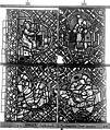 Cathédrale - Vitrail, déambulatoire, baie 52, le Bon Samaritain, quatrième panneau, en haut - Rouen - Médiathèque de l'architecture et du patrimoine - APMH00032384.jpg
