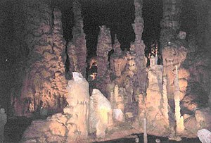Cathedral Caverns State Park - Image: Cathedral Caverns in Grant, Alabama