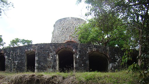 Catherineberg Sugar Mill Ruins; Saint John, United States Virgin Islands