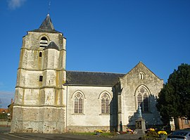 The church of Caucourt