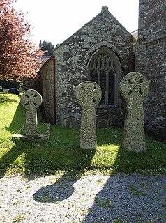 Marystow village in the United Kingdom