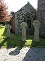 Celtic crosses at Marystow - geograph.org.uk - 431810.jpg