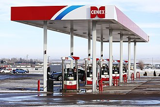 CHS Inc. - A Cenex gas station in Gillette, Wyoming