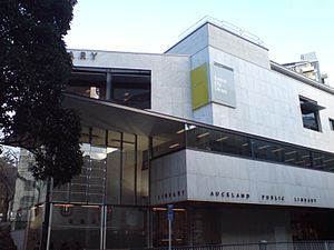 Auckland Libraries - The Central City Library in the Auckland CBD.