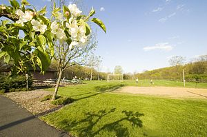 Hanover Township, New Jersey - Central Park in the Whippany section of Hanover Township.