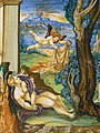 Cephalus Killing Procris Maiolica by Francesco Xanto Avelli da Rovigo Urbino 1533 CE (1216306577).jpg